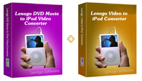 Lenogo DVD to iPod Converter + Video to iPod Powerpack screenshot